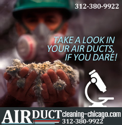 contaminated air duct treatment